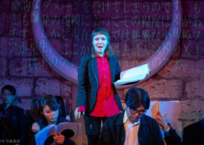 栃木でつくる演劇WIP版『イト2019』アミノト先生